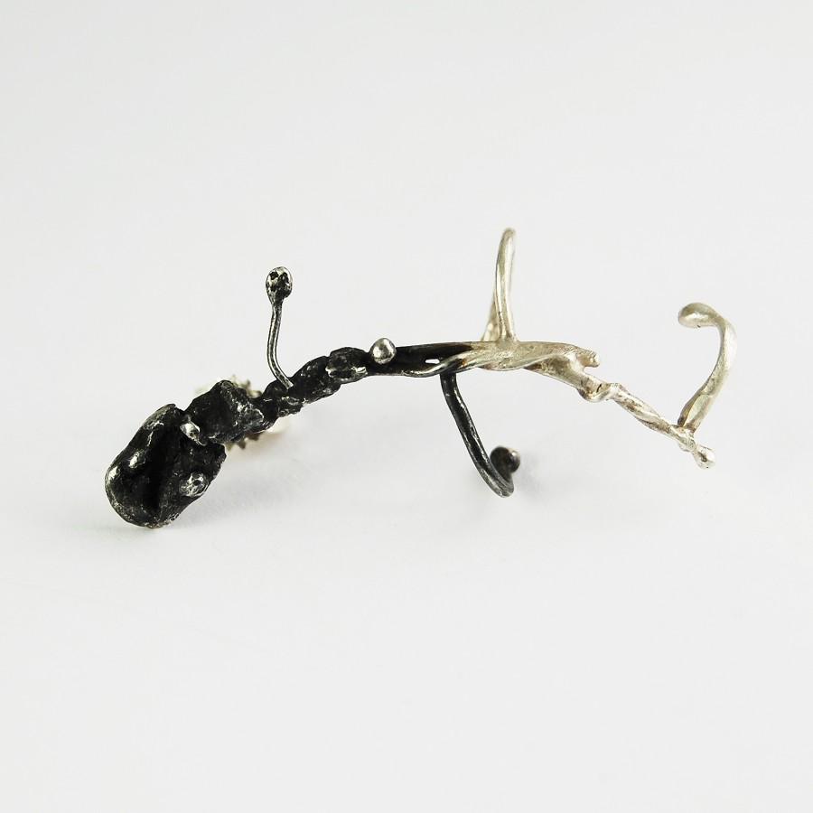 Crawling beast earring