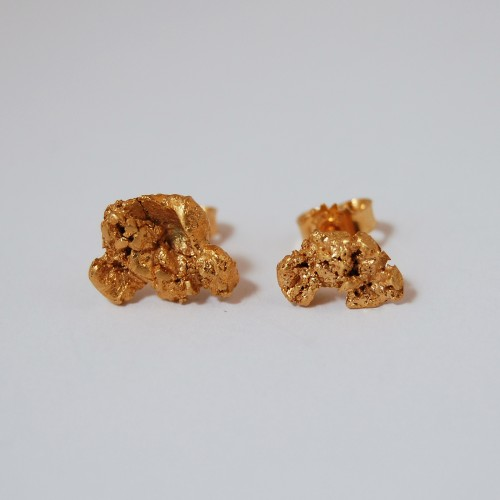 Golden Nugget earrings