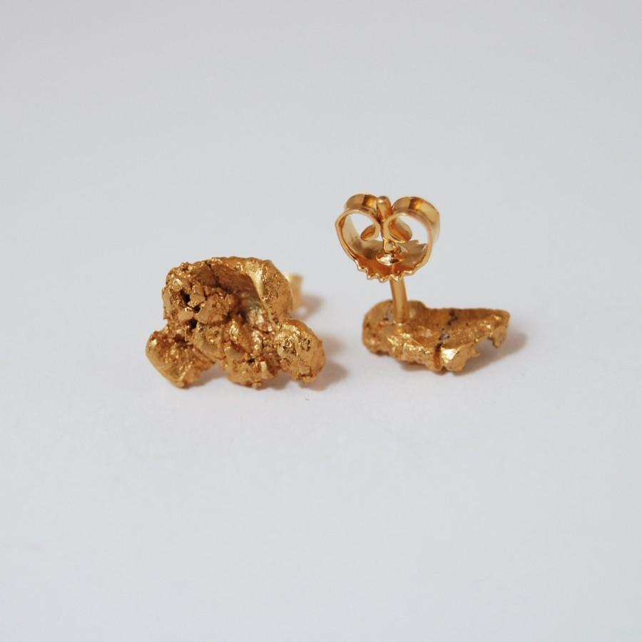 Golden Nugget earrings