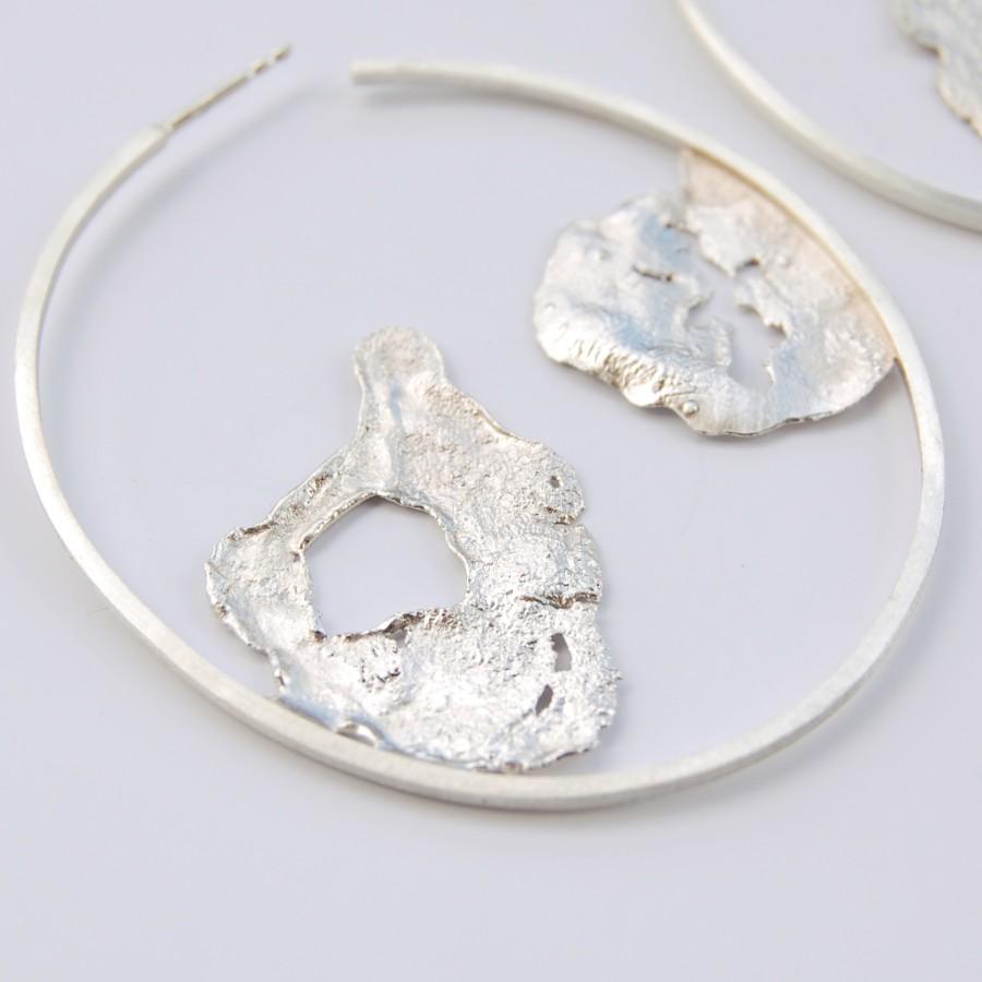 Landscape earrings