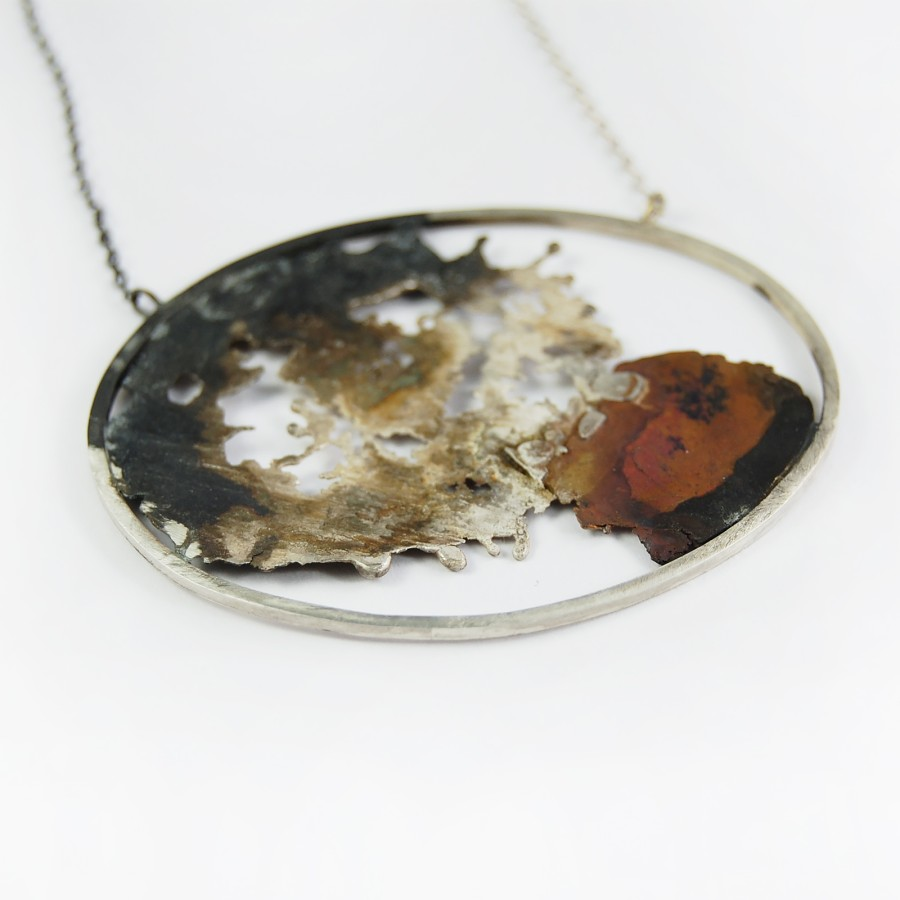 Landscape necklace